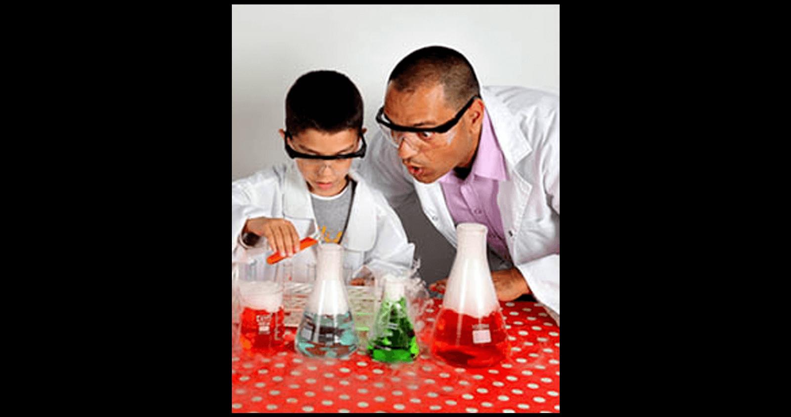 יום הולדת מדעי לילדים